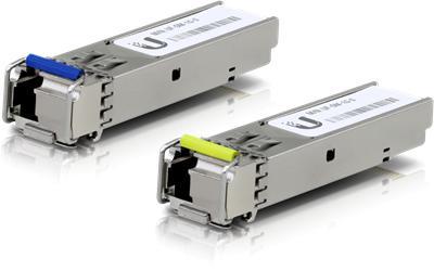 Z GBIC Ubiquiti U Fiber, Single-Mode Module, 1G, BiDi, 20-Pack