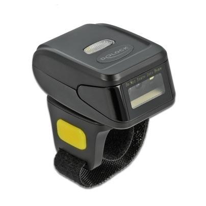 Delock Ringbarcode Scanner 1D und 2D mit 2,4 GHz oder Bluetooth