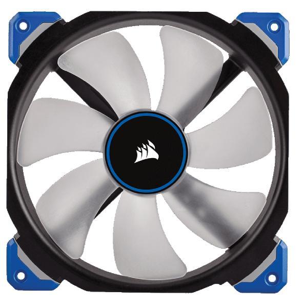 Case acc Fan 14cm Corsair ML140 Pro LED MagneticLevitation Fan, blue