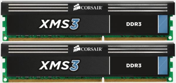 memory D3 1333 16GB C9 Corsair XMS K2 2x8GB XMS