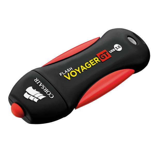 Flash USB 3.0 128GB Corsair Voyager max speed: r:390MB/s w:120MB/s